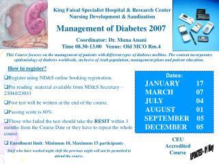 King Faisal Specialist Hospital  Research Center Nursing Development  Saudization
