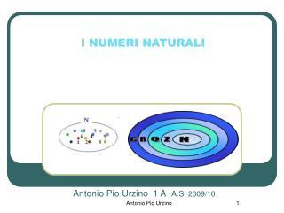 Antonio Pio Urzino  1 A  A.S.  2009/10