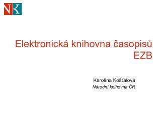 Elektronická knihovna časopisů EZB