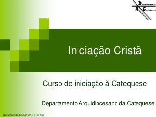 Iniciação Cristã