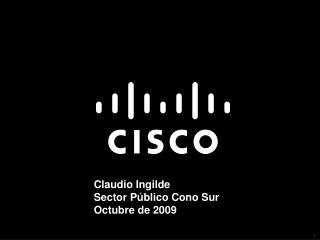 Claudio Ingilde Sector Público Cono Sur Octubre de 2009
