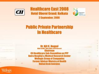 Public Private Partnership In Healthcare