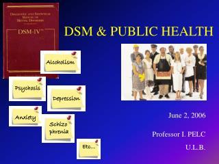 DSM & PUBLIC HEALTH