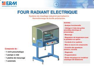 FOUR RADIANT ELECTRIQUE