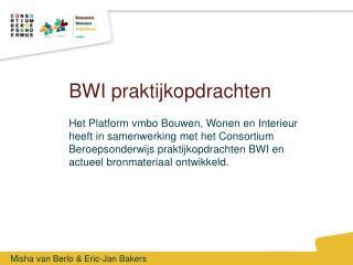 BWI praktijkopdrachten