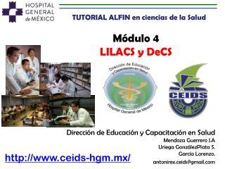 Módulo  4 LILACS y  DeCS