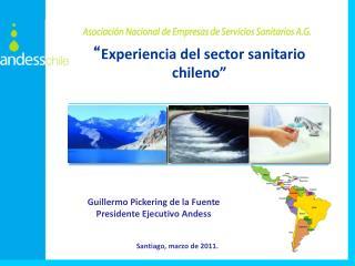 """"""" Experiencia del sector sanitario chileno"""""""