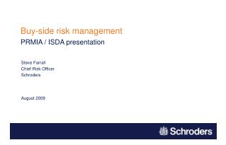 Buy-side risk management