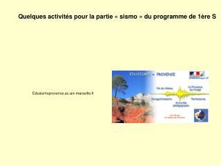 Edusismoprovence.ac-aix-marseille.fr