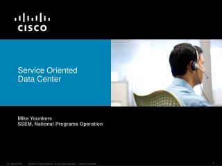 Service Oriented  Data Center