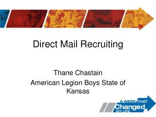 Direct Mail Recruiting
