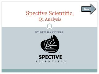 Spective Scientific,  Q1 Analysis