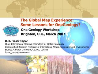 The Global Map Experience: Some Lessons for OneGeology?