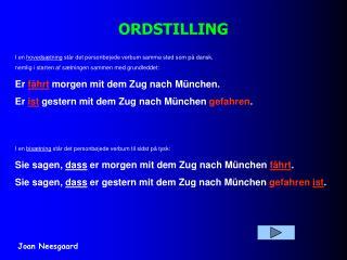 ORDSTILLING