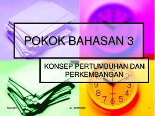 POKOK BAHASAN 3
