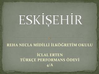 ESKİŞEHİR