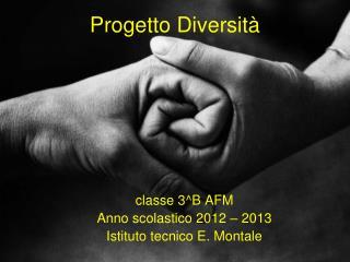 Progetto Diversità