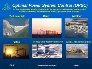 OPSC CIMExcel Software Inc. Slide  1