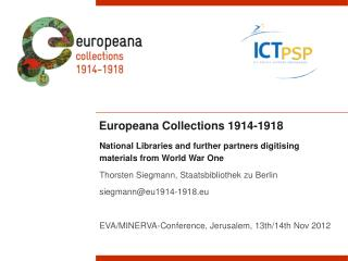 Europeana Collections 1914-1918