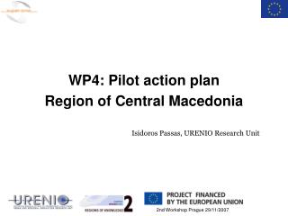 WP4: Pilot action plan Region of Central Macedonia