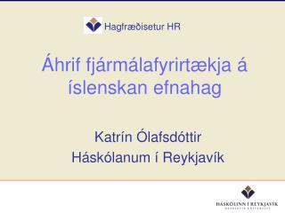 Hagfræðisetur HR
