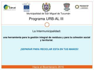 Municipalidad de San Miguel de Tucumán