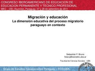 CONGRESO IBEROAMERICANO DE EDUCACION DE EDUCACION PERMANENTE Y TECNICO PROFESIONAL