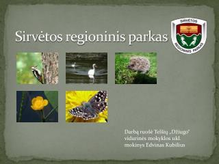 Sirv ėtos regioninis parkas