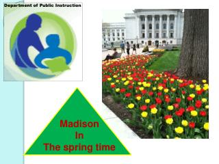 Madison  In   The spring time
