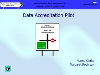 Data Accreditation Pilot