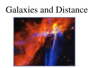 Galaxies and Distance