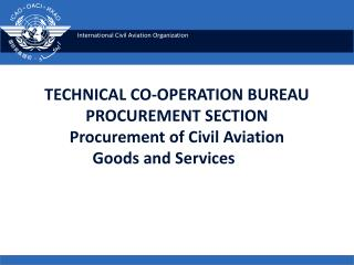 Technical Co-operation  Programme of ICAO