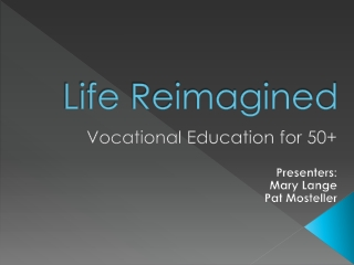 THE LEARNING CONTINUES:  CREATING PROGRAMS FOR RETIRED ADULTS