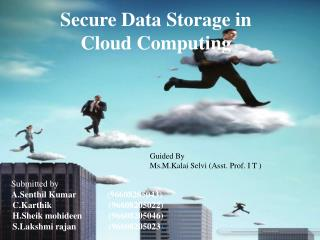 Secure Data Storage in Cloud Computing
