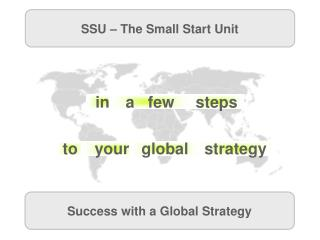 SSU – The Small Start Unit
