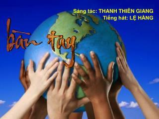 Bàn tay, bàn tay chia sẻ áo cơm.  Bàn tay, bàn tay phân phát niềm tin.