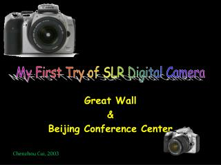 Great Wall  &  Beijing Conference Center