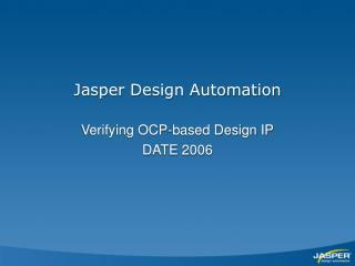 Jasper Design Automation