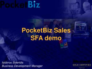 PocketBiz Sales SFA demo