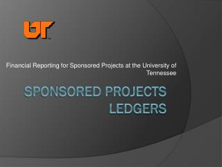 Sponsored Projects Ledgers