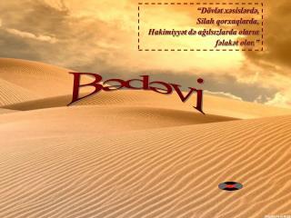 Bədəvi