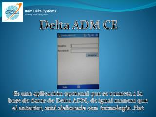 Delta ADM CE