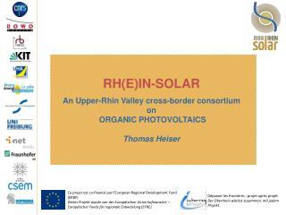 Ce projet est co-financ� par l'European Regional Development Fund (ERDF)