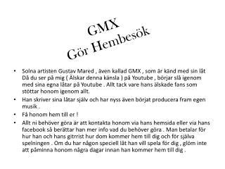GMX Gör Hembesök