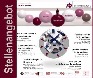 Sachverständiger für Finanz- und Versicherungsanalyse als Franchise-Partner