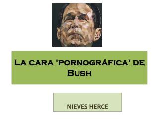 La cara 'pornográfica' de Bush