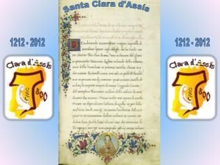 Santa Clara  d'Assís