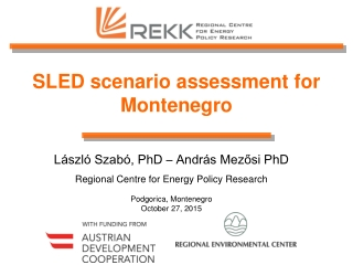 Energy Development in Montenegro