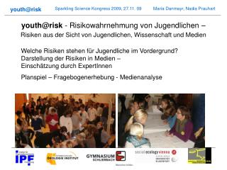 Team Institut für Pharmaökonomische Forschung Österreichisches Ökologie-Institut