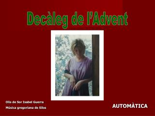 Decàleg de l'Advent
